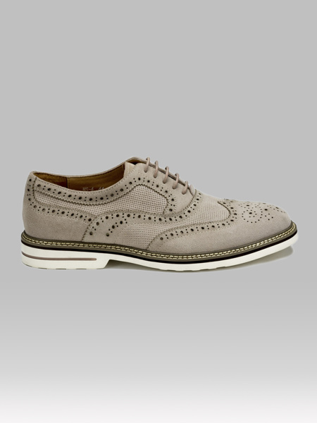 Picture of Men's suede leather oxford shoes