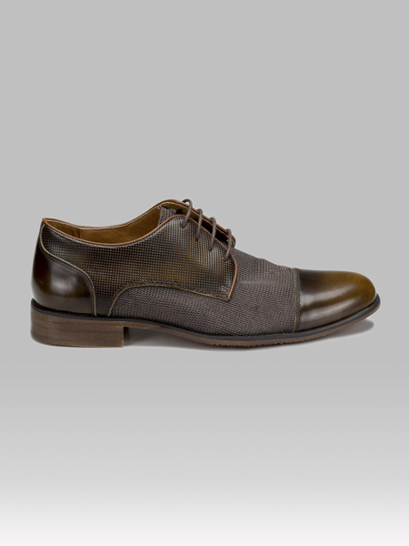 Picture of Leather men's oxford shoes