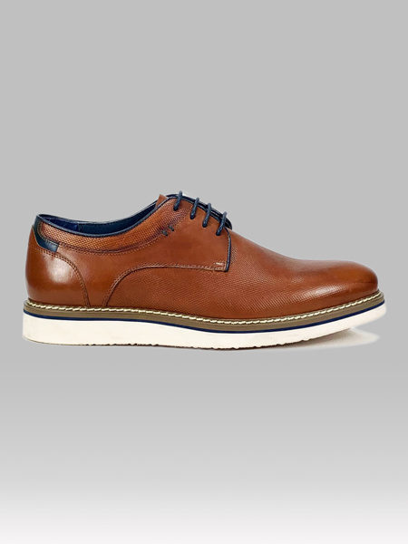 Picture of Men's leather derby shoes