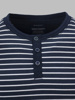 Picture of Cotton striped T-shirt with placket