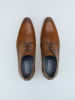 Picture of Men's leather derby shoes.
