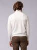 Picture of Men's turtleneck sweater with pique weave