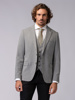 Picture of STRIPED SINGLE WOOL JACKET