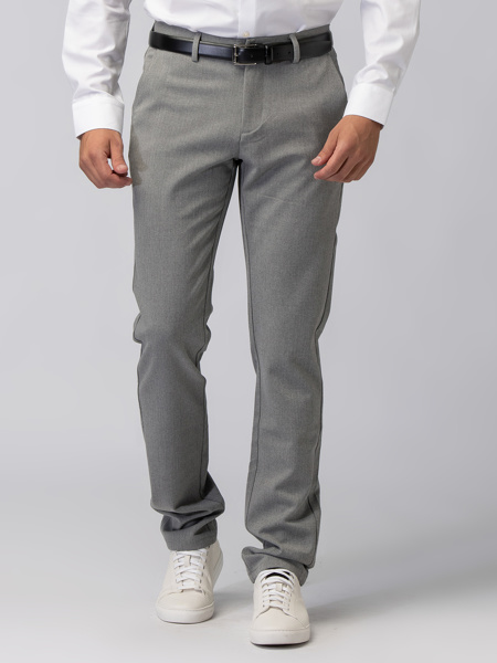 Picture of LIGHT GRAY CHINO TROUSERS