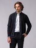 Picture of KNITTED JACKET WITH HIGH COLLAR