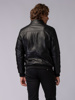 Picture of Men's bomber pu leather jacket