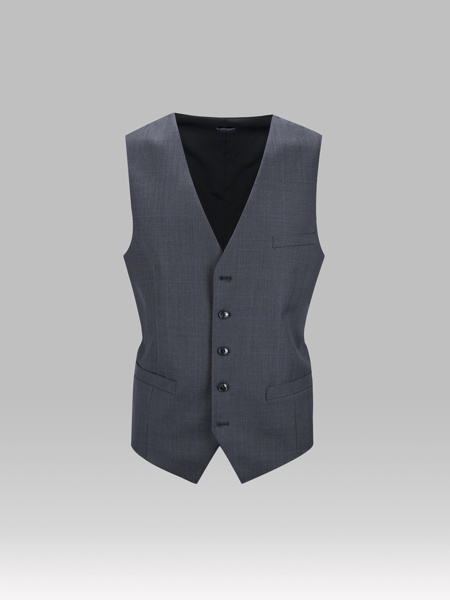 Picture of GRAY WOOL VEST