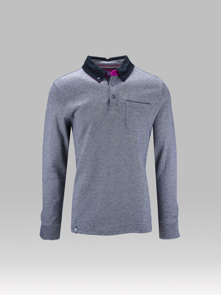 Picture of POLO T-SHIRT WITH INJANE FABRIC
