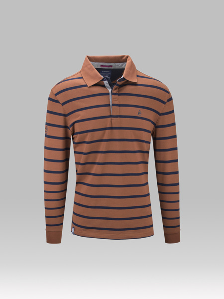Picture of STRIP POLO BLOUSE