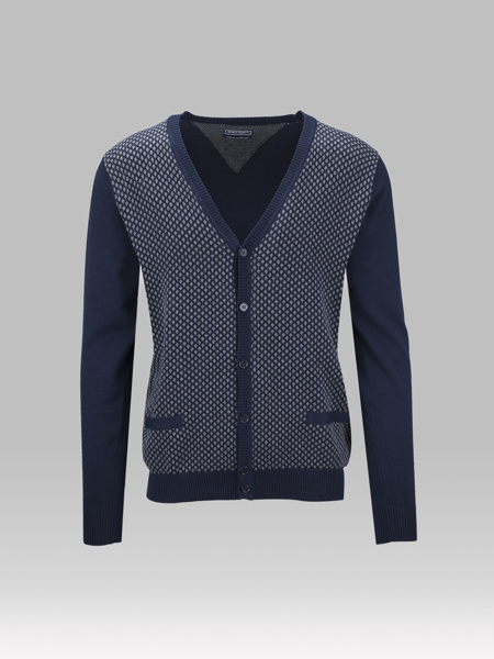 Picture of KNITTED V JACKET