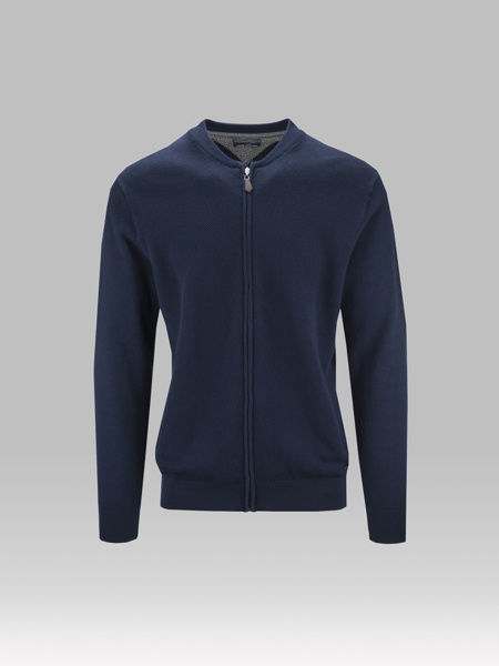 Picture of JACKET WITH COLLEGE COLLAR
