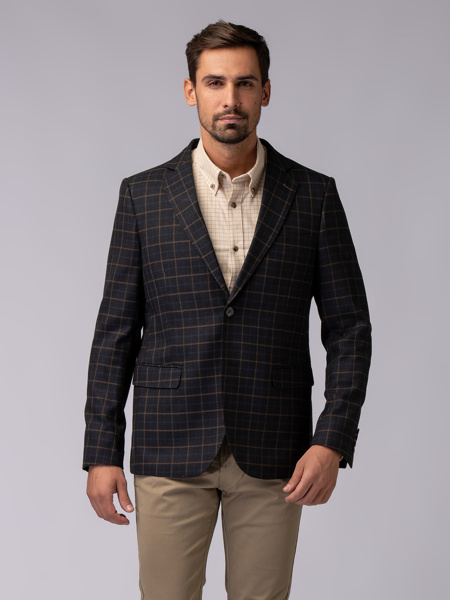 Picture of BLUE CHEK JACKET