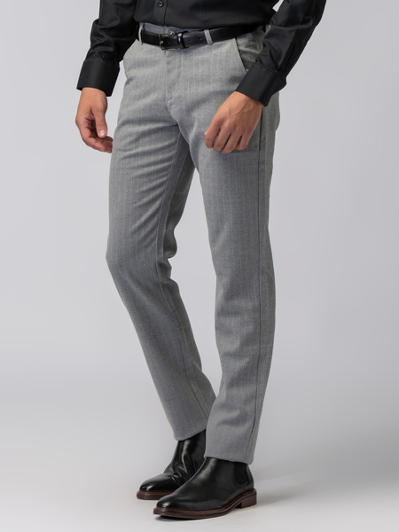 Picture of WOOL MIX CHINO TROUSERS