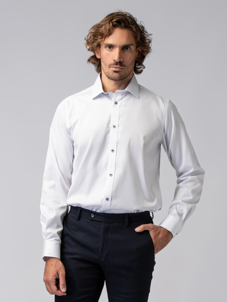 Picture of Men's shirt in thin strip