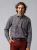 Picture of Men's flannel plaid check shirt