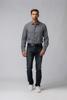 Picture of Men's stretch blue jeans five-pocket pants