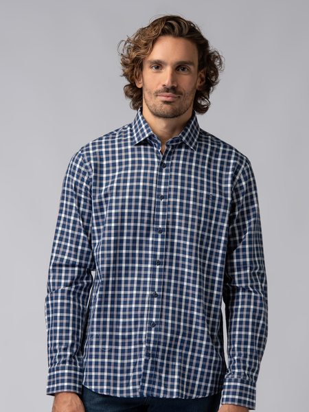 Picture of Men's plaid check shirt