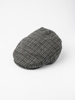 Picture of Men's check ascot hat wool mix