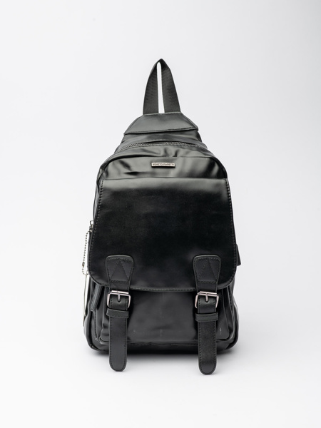 Picture of Men's small black backpack
