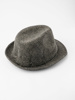 Picture of Man's trilby hat in herringbone