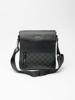 Picture of Unisex cross over sling bag check print