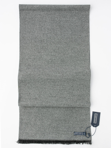 Picture of Men's soft grey scarf